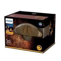 <b>Лампа светодиодная</b> Philips <b>5Вт E27</b> грибовидная 2000k теплый ...