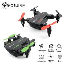 Eachine <b>E59 Mini</b> 2.4G 4CH 6 Axis Foldable Arm LED Headless ...