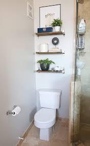 the toilet storage