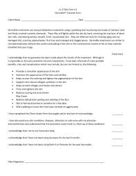 microneedling consent form how does it work