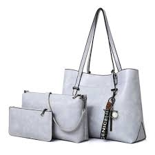 china fashion patent 3pieces set women bags famous designer las leather handbag china handbag hand bag