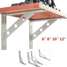 2x l bracket shelf support corner brace joint right angle brackets l countertop