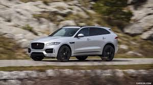 2017 Jaguar F-PACE 2.0d R-Sport AWD Diesel (Color: Rhodium Silver) - Side  Wallpaper E