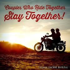 Harley Davidson Love Quotes Beauteous Biker Couples Quotes QuotesGram Harley DavidsonLove To Ride