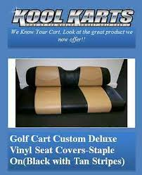 golf cart front seat replacement