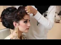 02 44 indian stani asian bridal makeup and hairstyle wedding makeup professional bridal makeup video