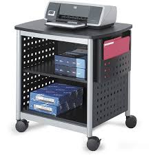 mobile printer stand. Simple Stand Safco Scoot Desk Mobile Printer Stand Intended T