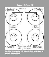 parallel wiring diagram speakers wiring diagram and hernes subwoofer wiring diagrams for car audio b speakersnational auto