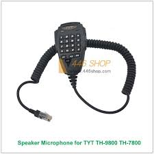 tyt mic wiring solution of your wiring diagram guide • tyt handheld speaker microphone 6 pin dtmf for tyt th 9800 th 7800 rh 446shop com electret mic wiring cb mic wiring