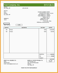 Proforma Invoice Template Examples Invoice Form Template Luxury Work