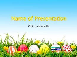 Happy Easter Powerpoint Template About Easter