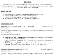 Barback Resume Fiveoutsiders Com