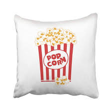 BSDHOME Red Bag Popcorn Box White Big Bucket Buttered ...