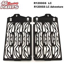 CNC <b>Motorcycle Accessories Radiator Guard</b> Protector Grille Grill ...
