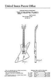 solid body electric guitar plan 17 electronic version guitar Gibson Explorer Wiring Diagram usa patent gibson futura explorer guitar 1950's drawings wiring diagram for gibson explorer