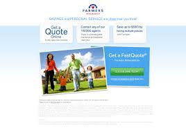 farmers insurance quote fluff is thy foe 6 insurance landing page examples critiques