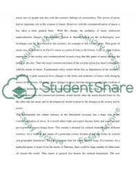 how commercialization has changed the music industry essay related essays