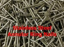 snless steel annular ring nails 3