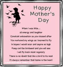 Small Picture mothersday poem and gift ideas you make a birdhouse to go with