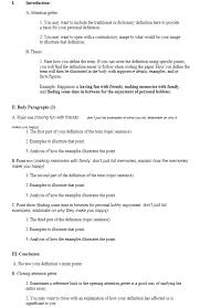 Example Of Definition Essay Topics Practical Tips On How To Write A Definition Essay At Kingessays