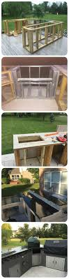 Do It Yourself Outdoor Kitchen A Boring Deck Or A Cool Outdoor Kitchen Homemajestic