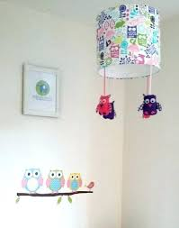 owl lamp for nursery owl lamp shade owl lamp shade woodland decor for girls room woodland