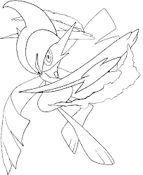 Coloring Pages Mega Evolved Pokémon Morning Kids