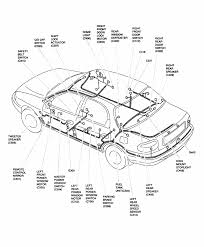Interior car parts diagram fresh repair guides interior rear door harness