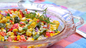 Kitchen Garden International Disney Recipes Roasted Corn Salad Epcot International Flower