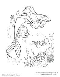 Coloring Pages: free little mermaid printables. Free Little ...