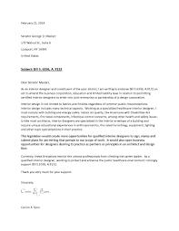 senator id legislative letter example csoro