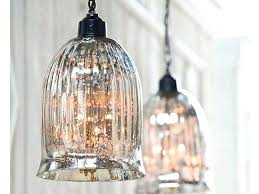 mercury glass pendant lights over kitchen island light pottery barn pendant iron mercury glass