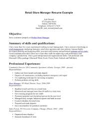 cover letter good retail resume objective examples store manager exampleretail resume objective examples extra medium size objective for resume in retail