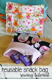 snack bag sewing tutorial