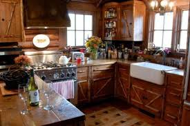 small log cabin kitchens home design ideas pictures rustic cabin