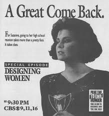 Designing Women Suzanne Class Reunion