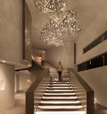 stairway led lighting. Stunning Staircase Lighting Ideas 10 That Turn A Into Centerpiece Pretasol Stairway Led