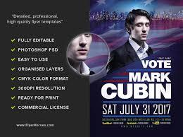 Political Flyer Template Flyerheroes