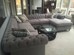 kenzie style chesterfield custom sectional sofas family room
