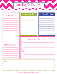 Printable To Do List Weekly Download Them Or Print