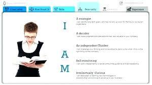 Resume Powerpoint Template Self Presentation Creative Ppt Free