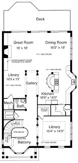 bright and modern 12 20 x 48 house plans drawn for the narrow lot by studer