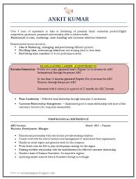 Sample Resume With No Experience Resume Badak