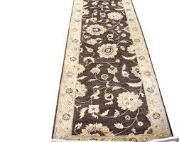 j16430 brown oriental rug runner jpg