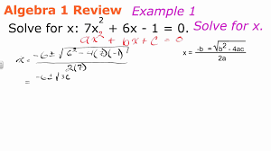 solving quadratic equations with the qudaratic formula geometry how to help algebra