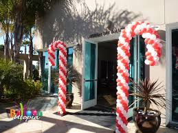 Candy Cane Theme Decorations Theme Balloons San Diego by Balloon Utopia 61