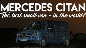 2017 Mercedes Citan 111 - the best small van in the world? | Music ...
