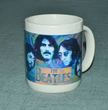 the beatles coffee cup beatle collectible coffee mug gift for beatle fans 11 oz ceramic gift mug by danterryartstudio on etsy