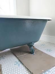 best bathtub refinishing method elegant how to refinish a nasty old clawfoot tub tubs bathbest