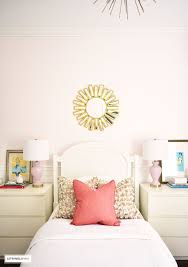 bed room pink. Beautiful Pink A Chic Modern Girlu0027s Bedroom Featuring Blush Pink Walls Coral And Brass  Accessories And Bed Room Pink I